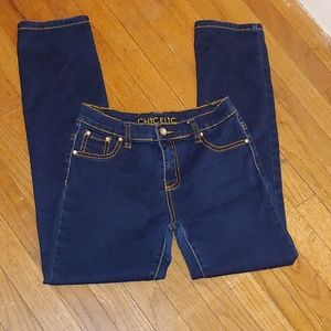 ChicFlic jeans jeweled accents size 14 (girls)
